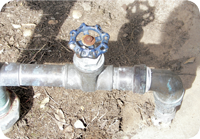 Picture of a Gate Valve