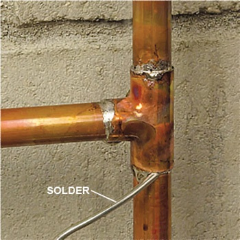 Copper Pipe illustraion